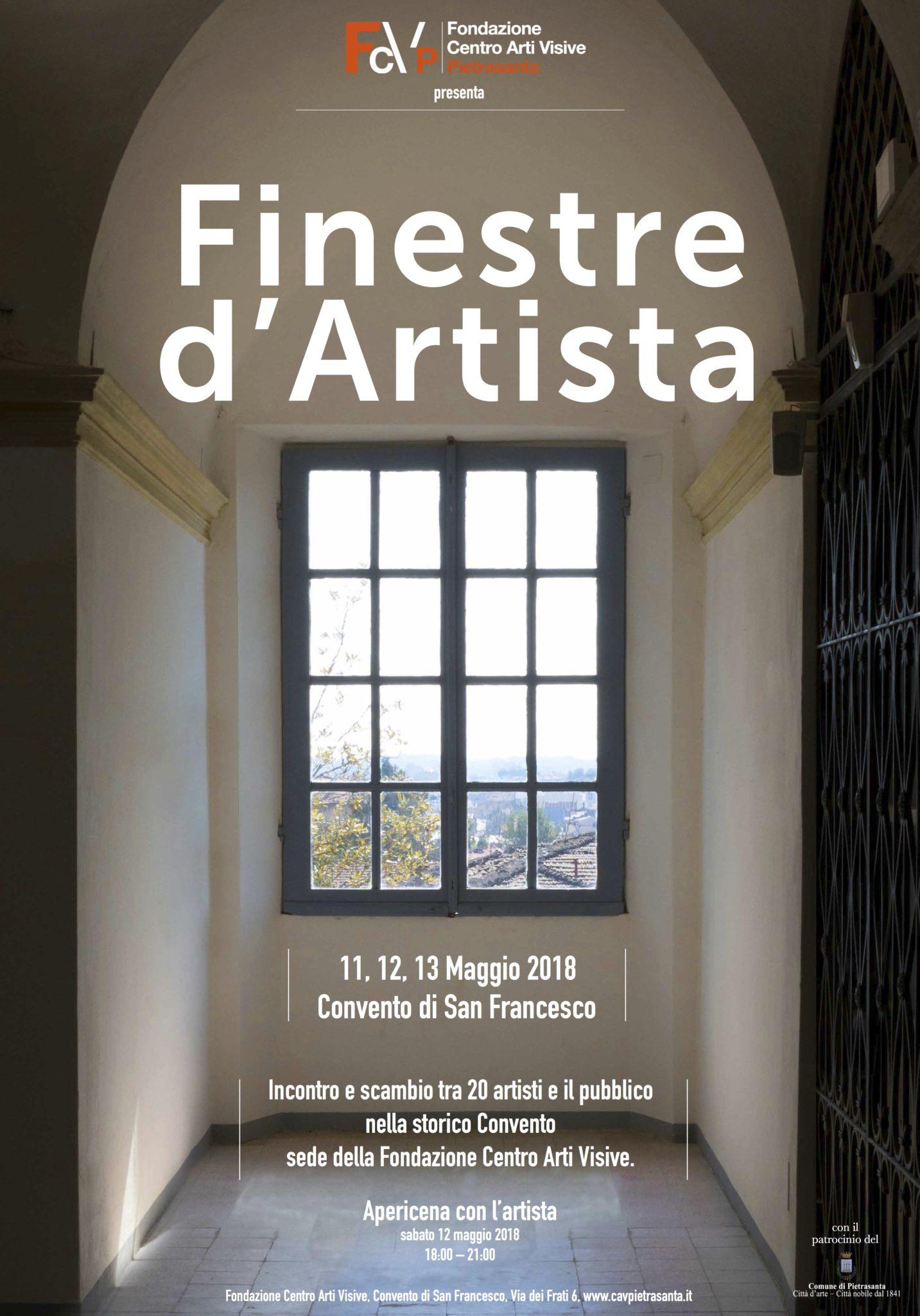 FINESTRE D'ARTISTA