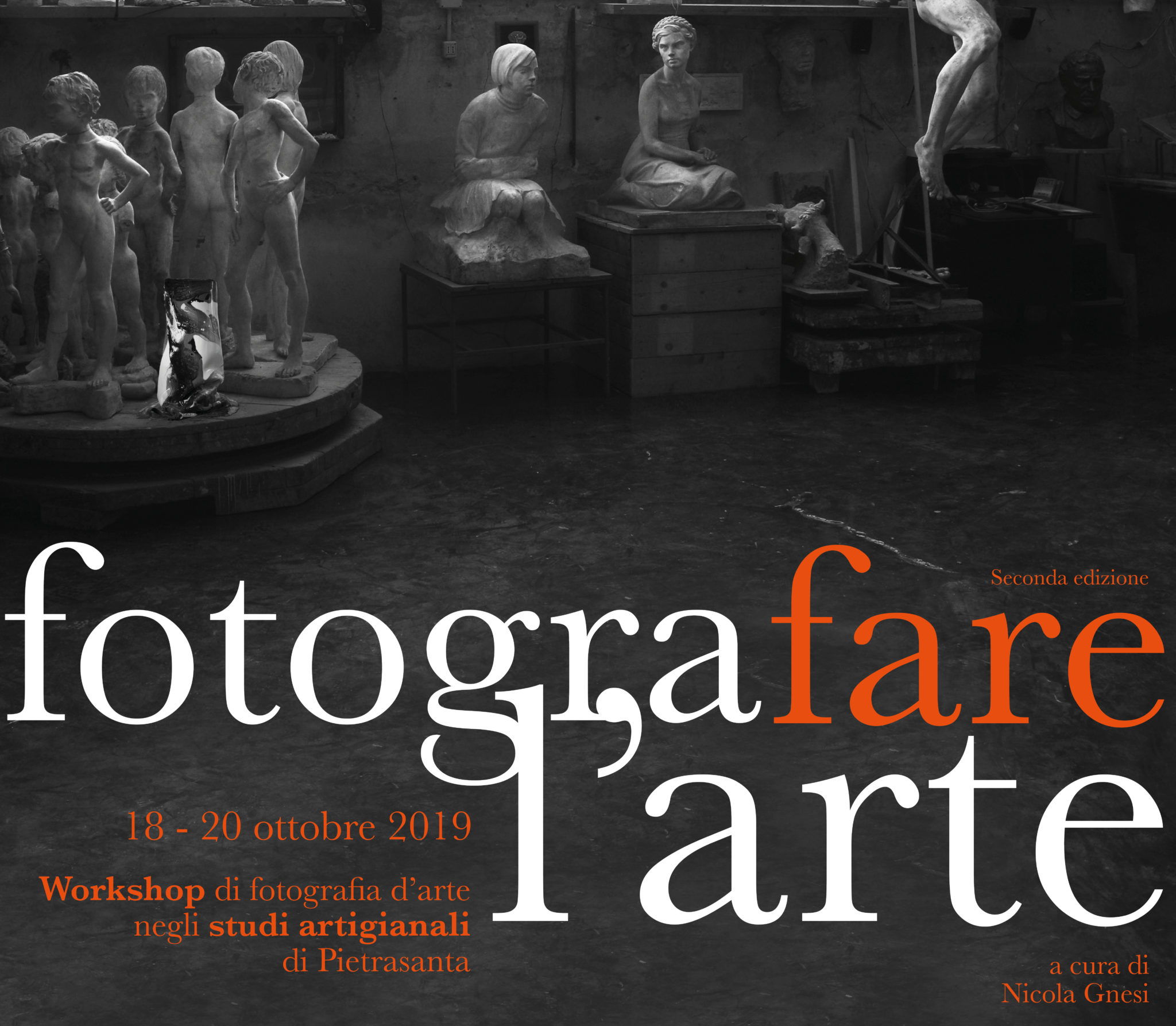 FOTOGRAFARE L'ARTE 2019