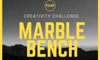 MARBLE BENCH. CREATIVITY CHALLENGE.